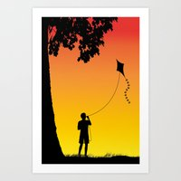 Childhood Dreams, The Ki… Art Print