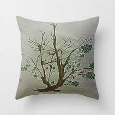 STRUGGLING TO SURVIVE Throw Pillow