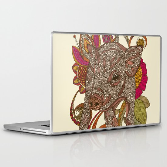 Paisley Piggy Laptop & iPad Skin