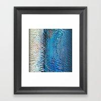 C32H18N8 Framed Art Print