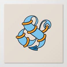 Et Anchor Canvas Print