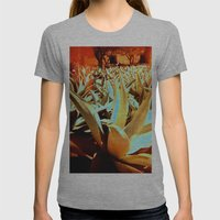 Maguey Womens Fitted Tee Athletic Grey SMALL