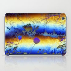 ABSTRACT - My blue heaven iPad Case