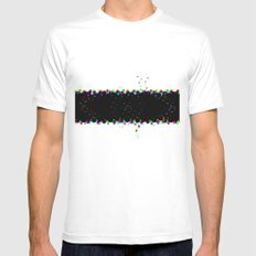 T shirt Mens Fitted Tee SMALL White