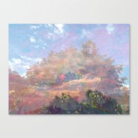 Beyond The Forest Canvas Print