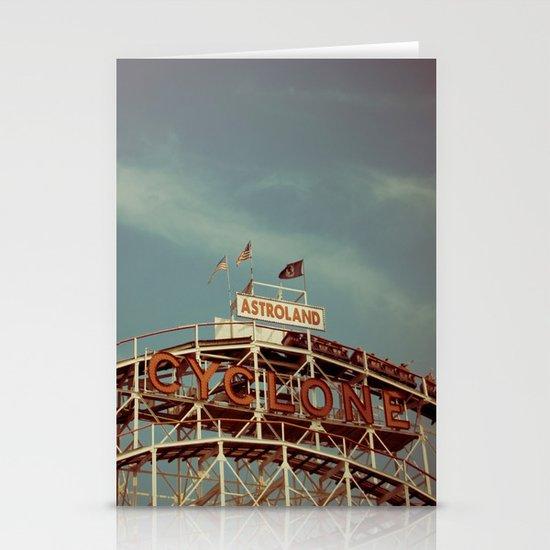 Coney Island Cyclone Stationery Card
