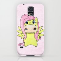 iPhone Cases featuring A Boy - Fluttershy by Christophe Chiozzi