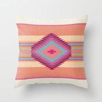 FIESTA (pink) Throw Pillow