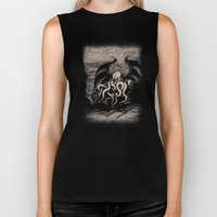 The Rise of Great Cthulhu Biker Tank
