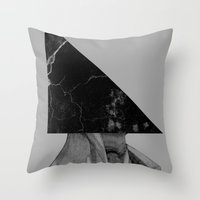 A Triangle Throw Pillow