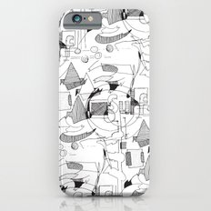 Drawing Collage Slim Case iPhone 6s