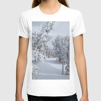 snow T-shirts featuring Snow by Chris Root