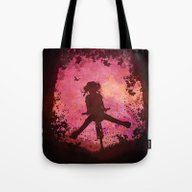 Chasing The Wind (pink) Tote Bag