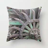 Farming - Tools Of The T… Throw Pillow