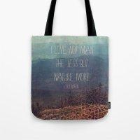 Nature More  Tote Bag