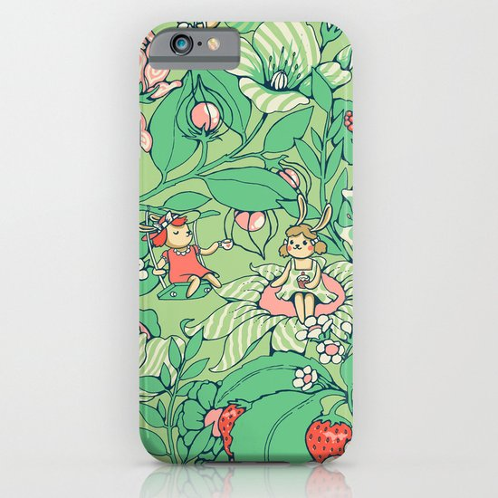 Garden party - sage tea version iPhone & iPod Case