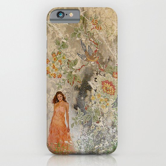 A romantic touch iPhone & iPod Case