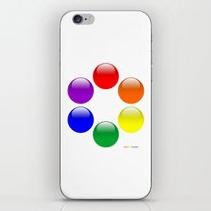 Gay Buttons iPhone & iPod Skin