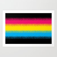 Pixel Perfect Art Print