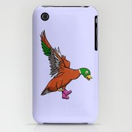 Duck Boots iPhone (3g, 3gs) Slim Case