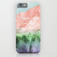 Love Is In The Mountains iPhone 6 Slim Case