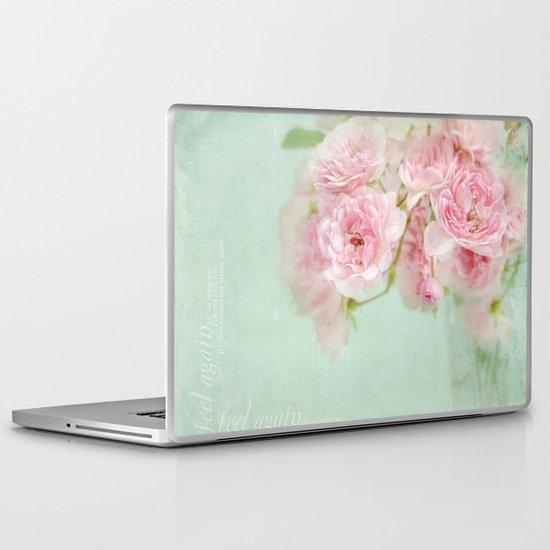 vintage roses Laptop & iPad Skin