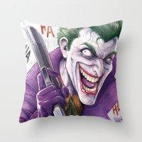 Joker CCXP 2014 Throw Pillow