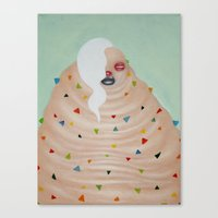 Ms. Candy Canvas Print