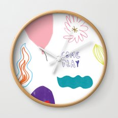 come and play Wall Clock