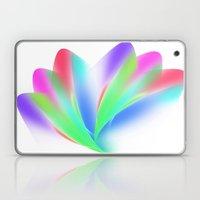 Fanned (on White) Laptop & iPad Skin