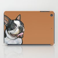 Snoopy the Boston Terrier iPad Case