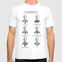 The Illustrated Guide To… Mens Fitted Tee White SMALL
