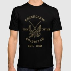 Quidditch House Outfitters Black Mens Fitted Tee SMALL