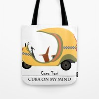 Coco Taxi - Cuba in my mind Tote Bag