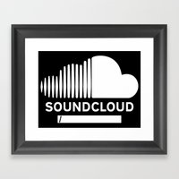 Share Your Cloud With Th… Framed Art Print