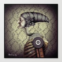The Old Mechanical Man Canvas Print