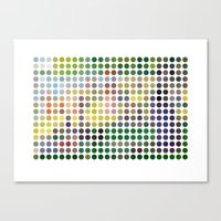 Georges Seurat Remixed (2009) Canvas Print