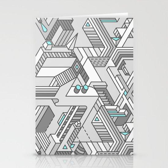 Penrose Manifold Stationery Card