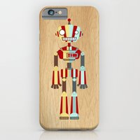 robot iPhone & iPod Cases featuring Robot by LindseyCowley