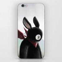 Eightball Demon iPhone & iPod Skin