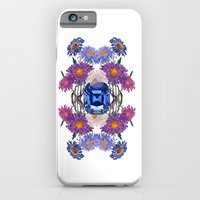 iPhone Cases featuring Birth Stone & Flower/SEPTEMBER by Rococco-LA