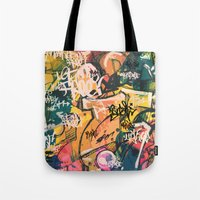 Graffiti Spot Tote Bag