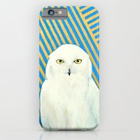 iPhone & iPod Case featuring Chester the Owl by Ashley White Jacobsen