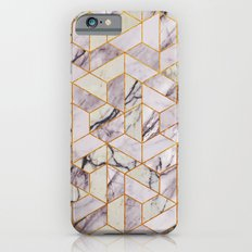 Vintage Marble Art Deco Pattern Slim Case iPhone 6s