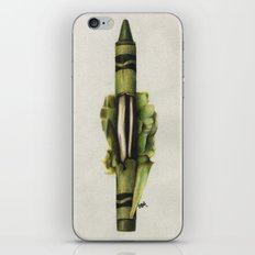 To The Core: Green iPhone & iPod Skin