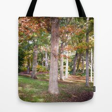 Trees at Wellesley  Tote Bag