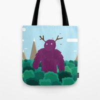 Life Swarms with Innocent Monsters Tote Bag