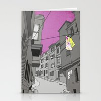 Historical Street View Stationery Cards