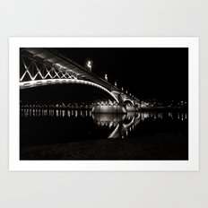 Margaret Bridge IV. Art Print