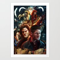Family Don't End With Bl… Art Print